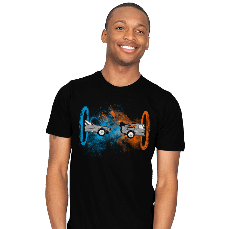 Back to the Portal - Mens - T-Shirts - RIPT Apparel
