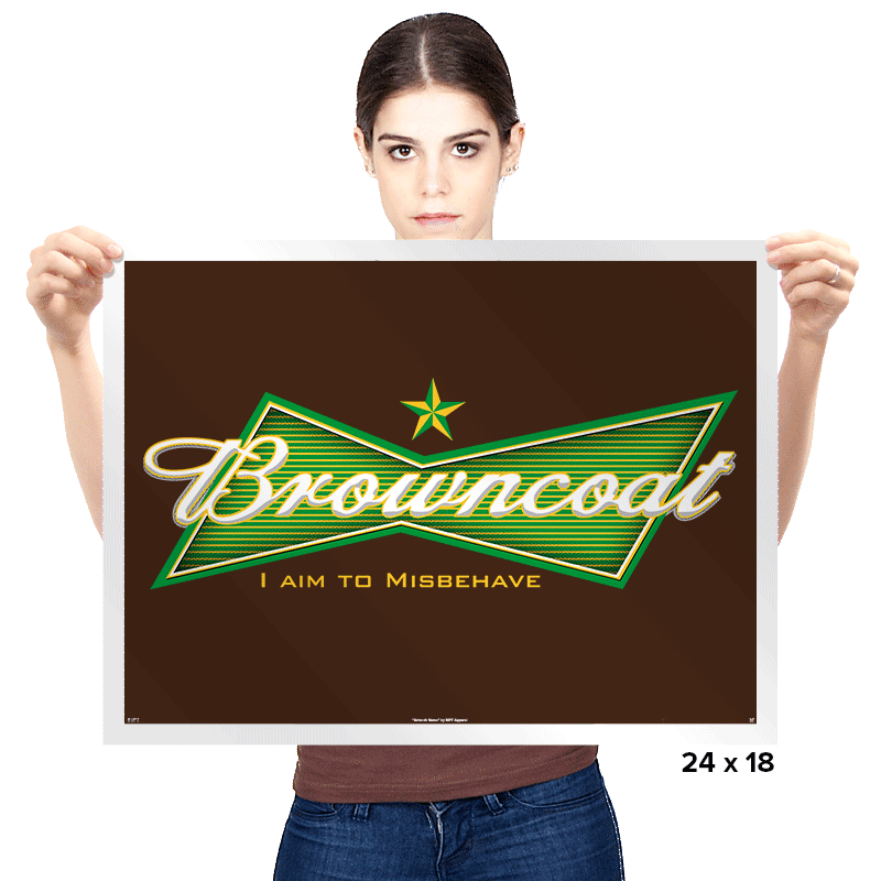 Browncoat Beer - Prints - Posters - RIPT Apparel