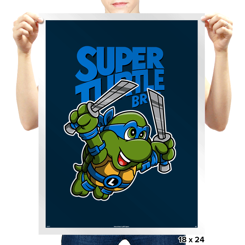 Super Leo Bros. 3 - Prints - Posters - RIPT Apparel