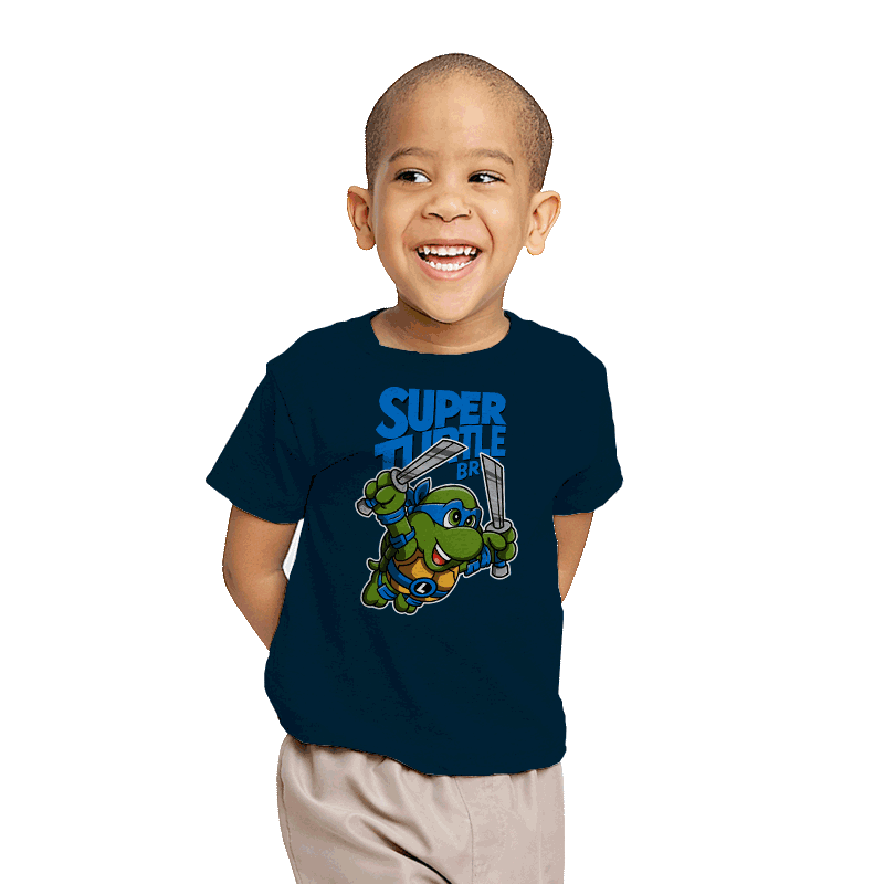 Super Leo Bros. 3 - Youth - T-Shirts - RIPT Apparel