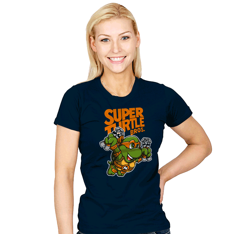 Super Mikey Bros. 3 - Womens - T-Shirts - RIPT Apparel