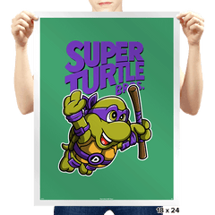 Super Donnie Bros. 3 - Prints - Posters - RIPT Apparel