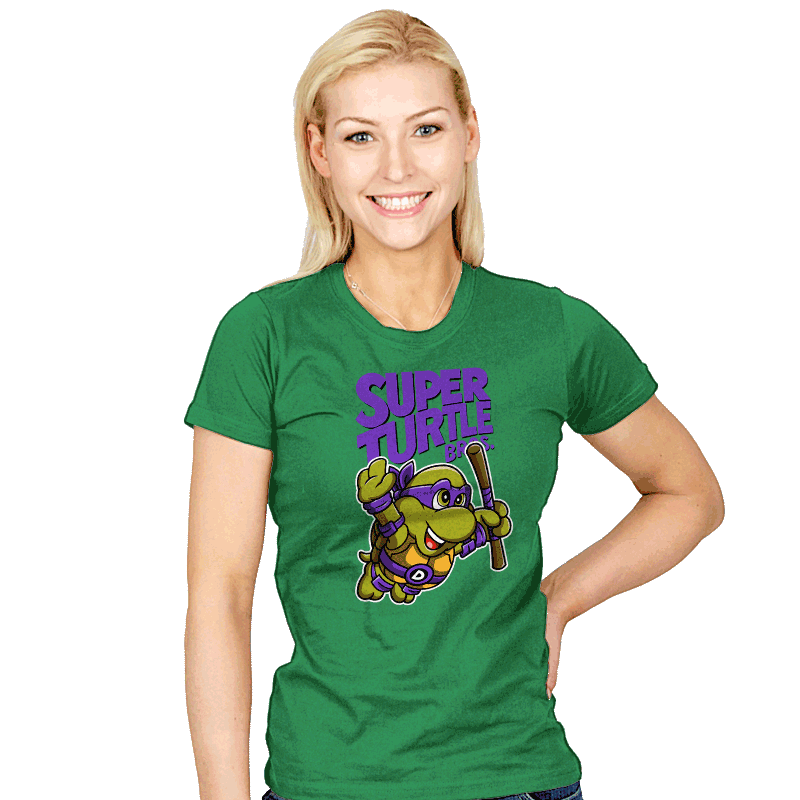 Super Donnie Bros. 3 - Womens - T-Shirts - RIPT Apparel
