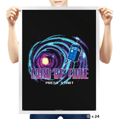 Retro Who - Prints - Posters - RIPT Apparel