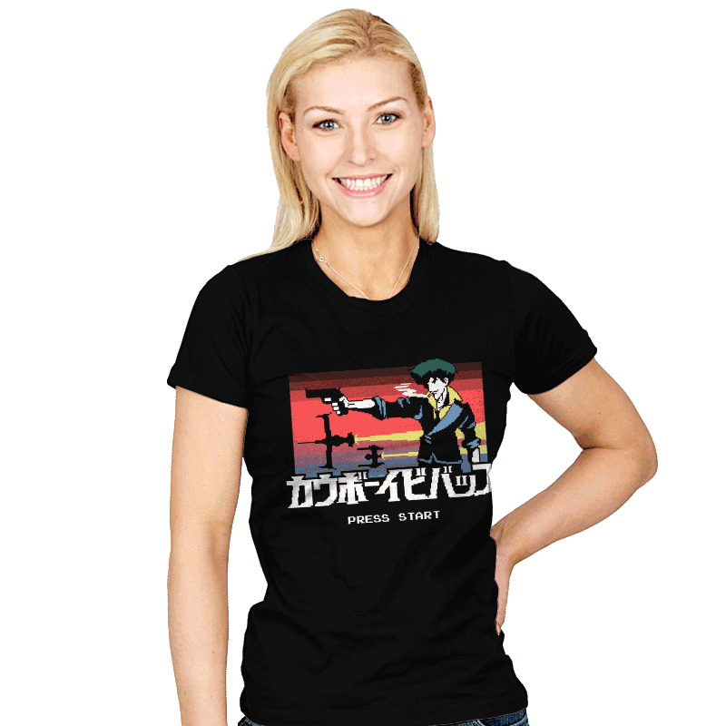 Retro Bebop - Womens - T-Shirts - RIPT Apparel
