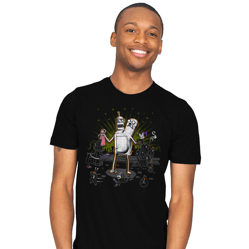 When Worlds Collide - Mens - T-Shirts - RIPT Apparel