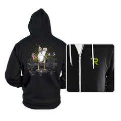 When Worlds Collide - Hoodies - Hoodies - RIPT Apparel