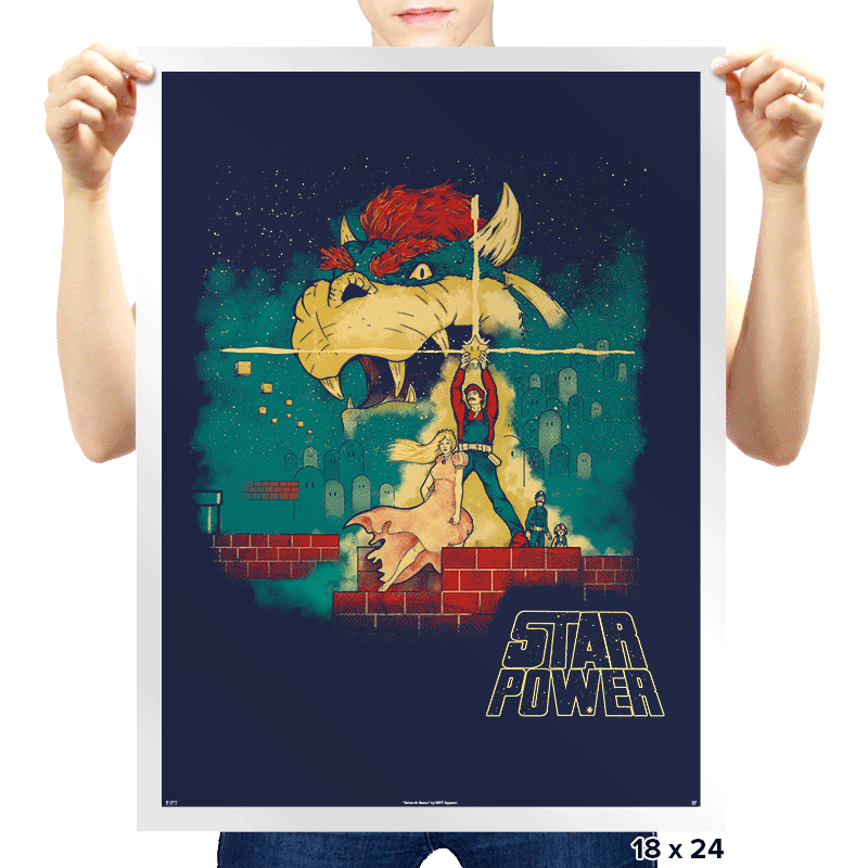 Star Power Exclusive - Prints - Posters - RIPT Apparel