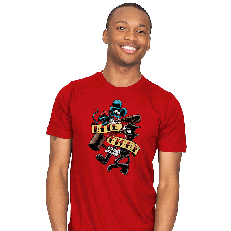 Bite and Fight - Mens - T-Shirts - RIPT Apparel