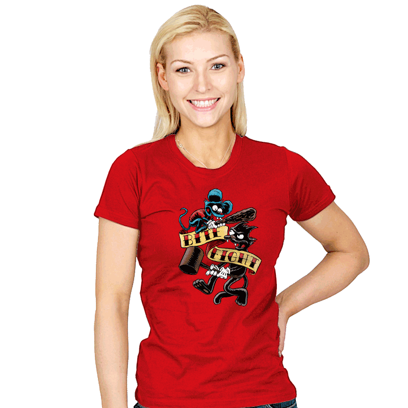 Bite and Fight - Womens - T-Shirts - RIPT Apparel