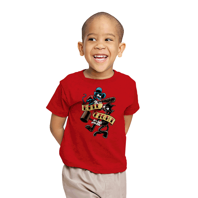 Bite and Fight - Youth - T-Shirts - RIPT Apparel