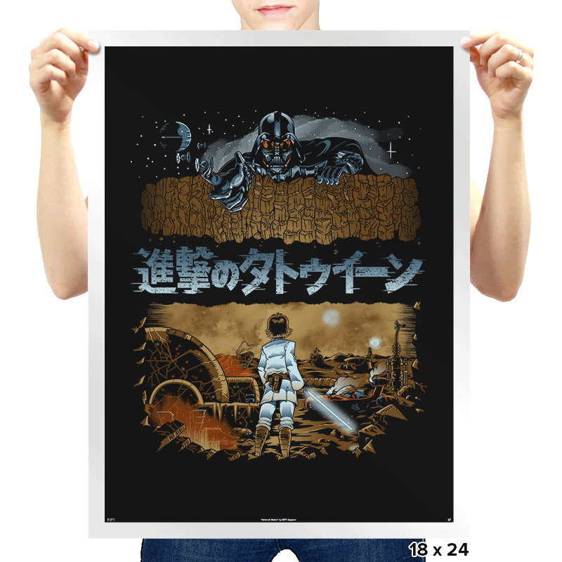 Attack on Tatooine Exclusive - Prints - Posters - RIPT Apparel
