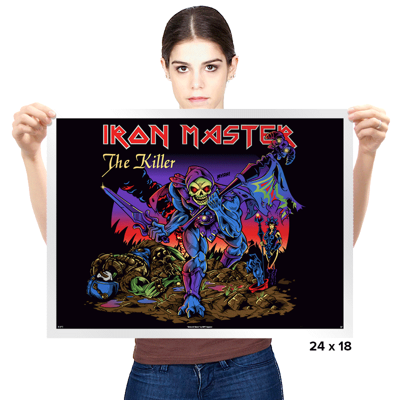 Iron Master Exclusive - Prints - Posters - RIPT Apparel