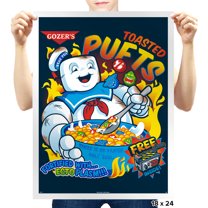 Toasted Puffs Exclusive - Prints - Posters - RIPT Apparel
