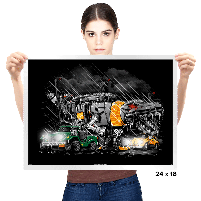 Dinobot Park Exclusive - Prints - Posters - RIPT Apparel