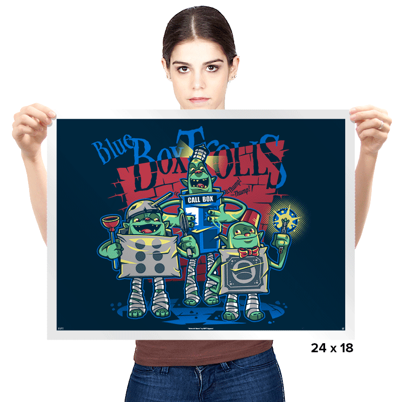 Blue Box Trolls Exclusive - Prints - Posters - RIPT Apparel