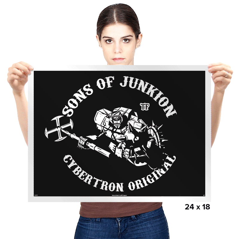 Sons of Junkion - Prints - Posters - RIPT Apparel