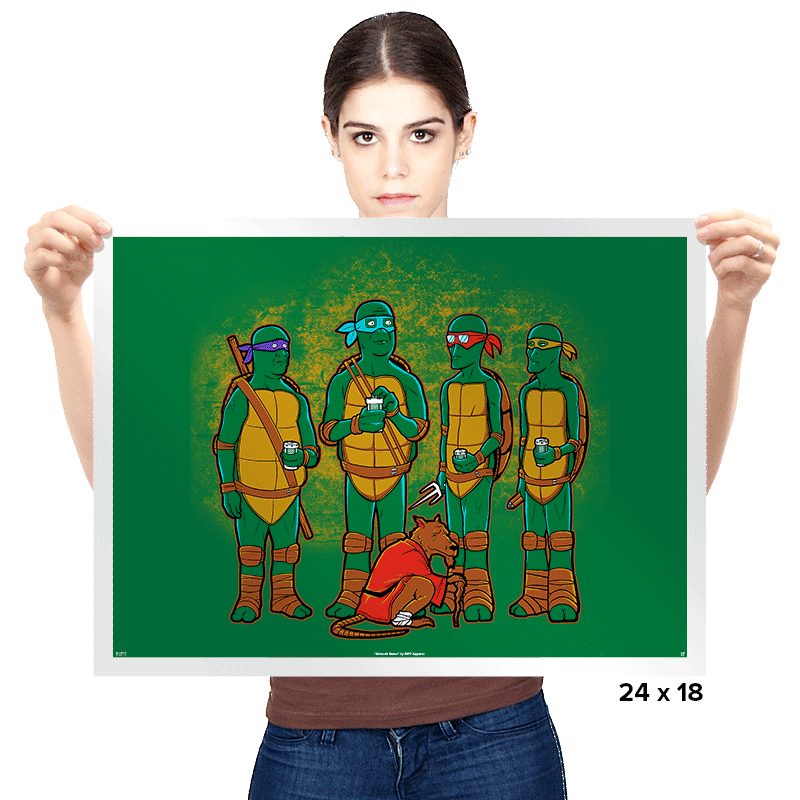 King of the Sewer - Prints - Posters - RIPT Apparel