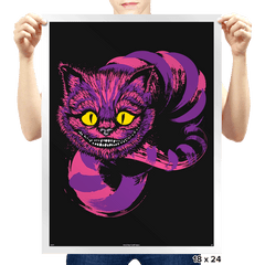 Grinning - Prints - Posters - RIPT Apparel
