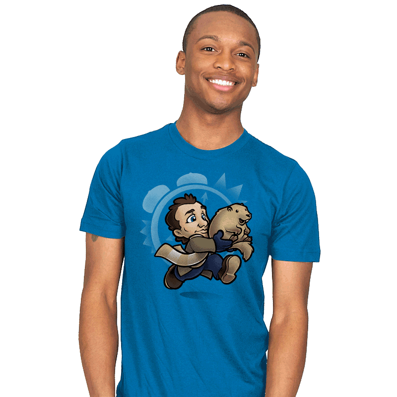 Super Groundhog Bros. - Mens - T-Shirts - RIPT Apparel