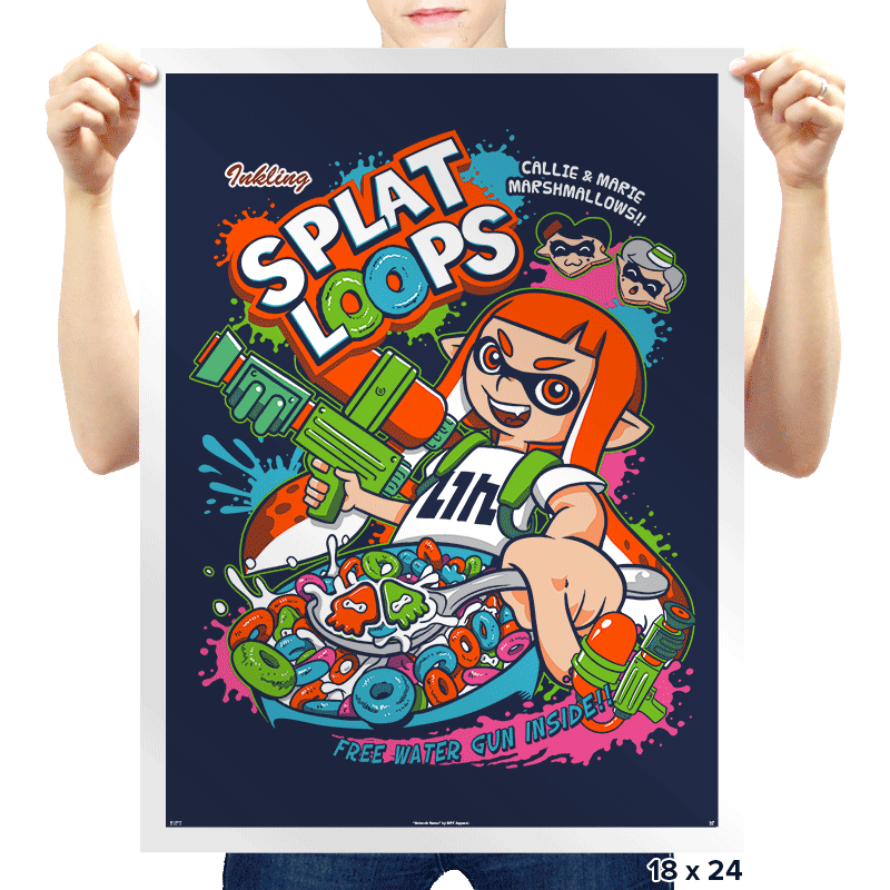 Splat Loops - Prints - Posters - RIPT Apparel