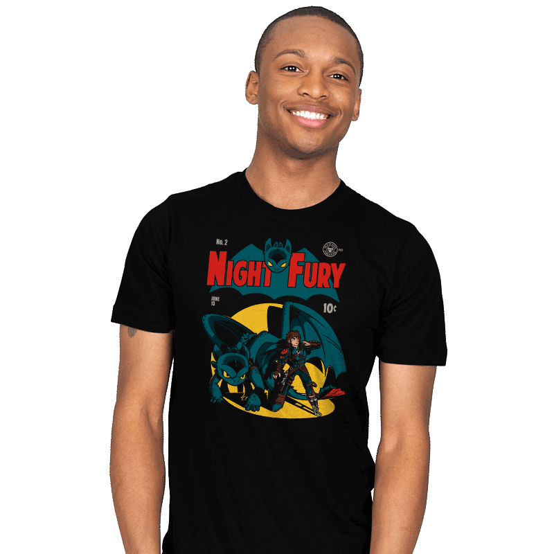 Dark Knight Fury Exclusive - Mens - T-Shirts - RIPT Apparel