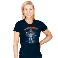 Let's Destroy All Humans, Baby! Exclusive - Womens - T-Shirts - RIPT Apparel