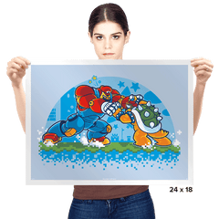 Bowser Buster Exclusive - Prints - Posters - RIPT Apparel