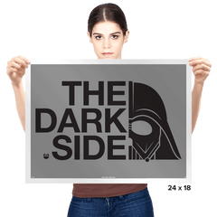 North of the Dark Side Exclusive - Prints - Posters - RIPT Apparel