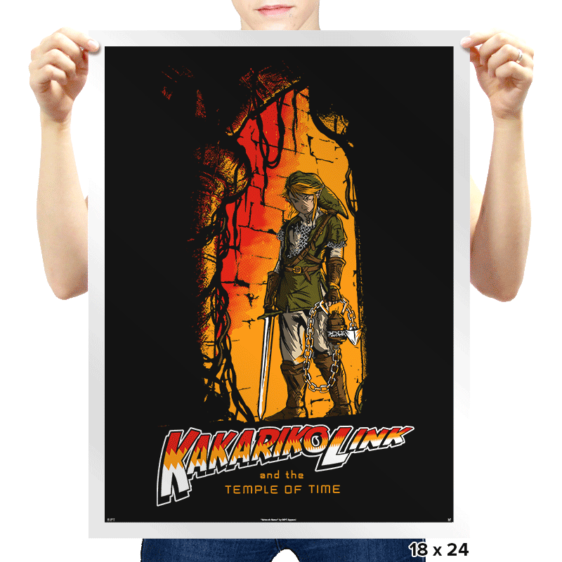 Temple of Time - Prints - Posters - RIPT Apparel