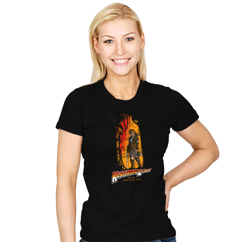 Temple of Time - Womens - T-Shirts - RIPT Apparel