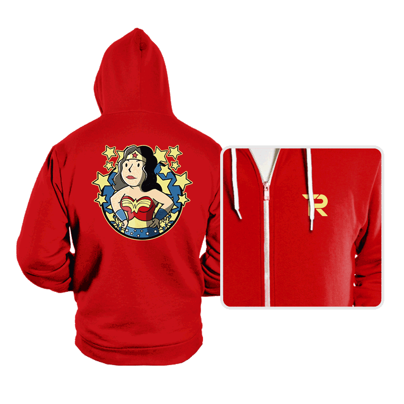 Wonder Girl - Hoodies - Hoodies - RIPT Apparel