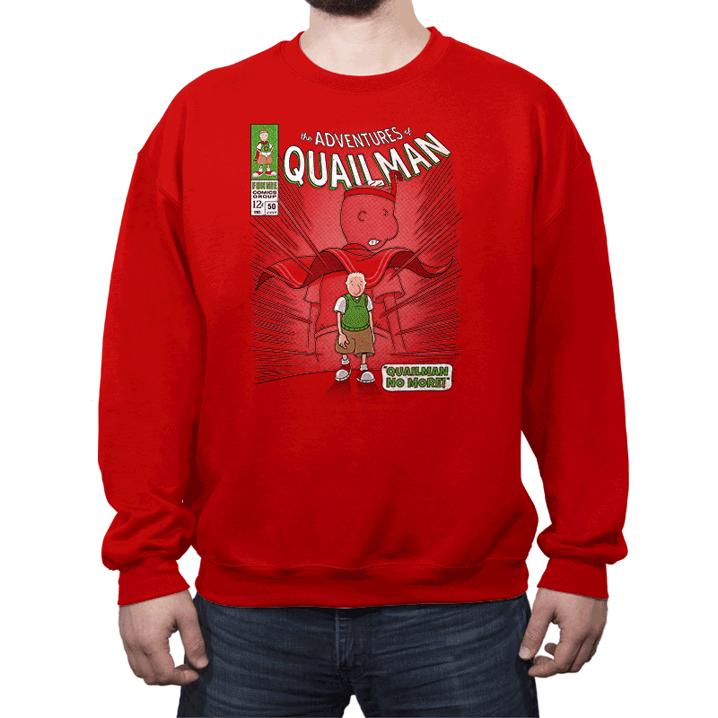 Quailman No More - Crew Neck - Crew Neck - RIPT Apparel
