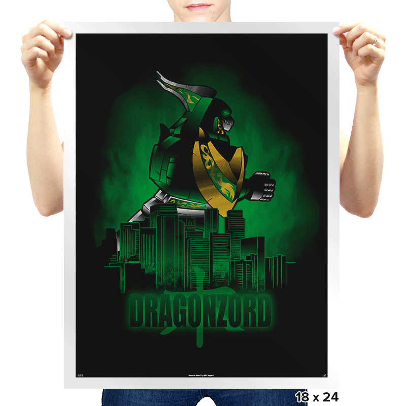 Zordzilla Exclusive - Prints - Posters - RIPT Apparel