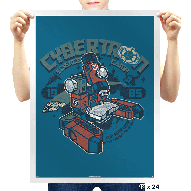 Cybertron Science Camp Exclusive - Prints - Posters - RIPT Apparel