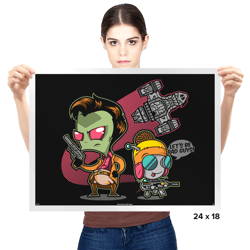 Invader Mal Exclusive - Prints - Posters - RIPT Apparel