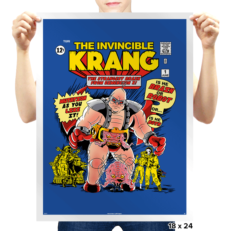 Invincible Krang Exclusive - Prints - Posters - RIPT Apparel