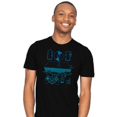 PSX2 - Mens - T-Shirts - RIPT Apparel