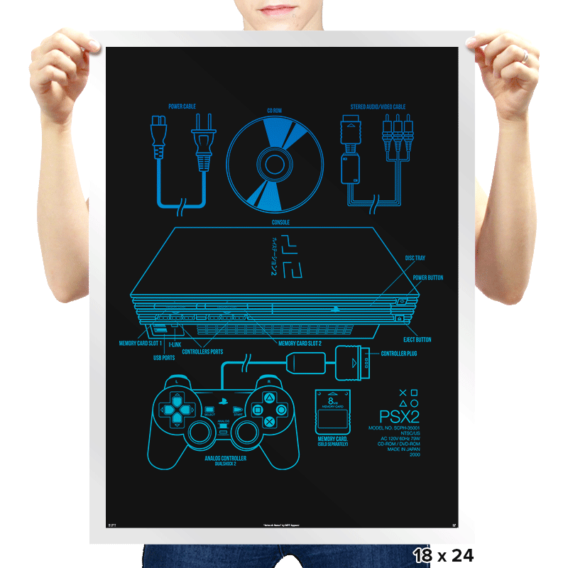 PSX2 - Prints - Posters - RIPT Apparel