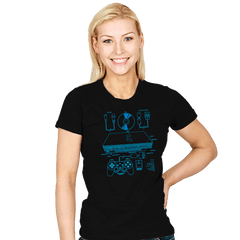 PSX2 - Womens - T-Shirts - RIPT Apparel