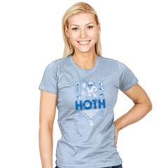 Hoth Winter Games - Womens - T-Shirts - RIPT Apparel
