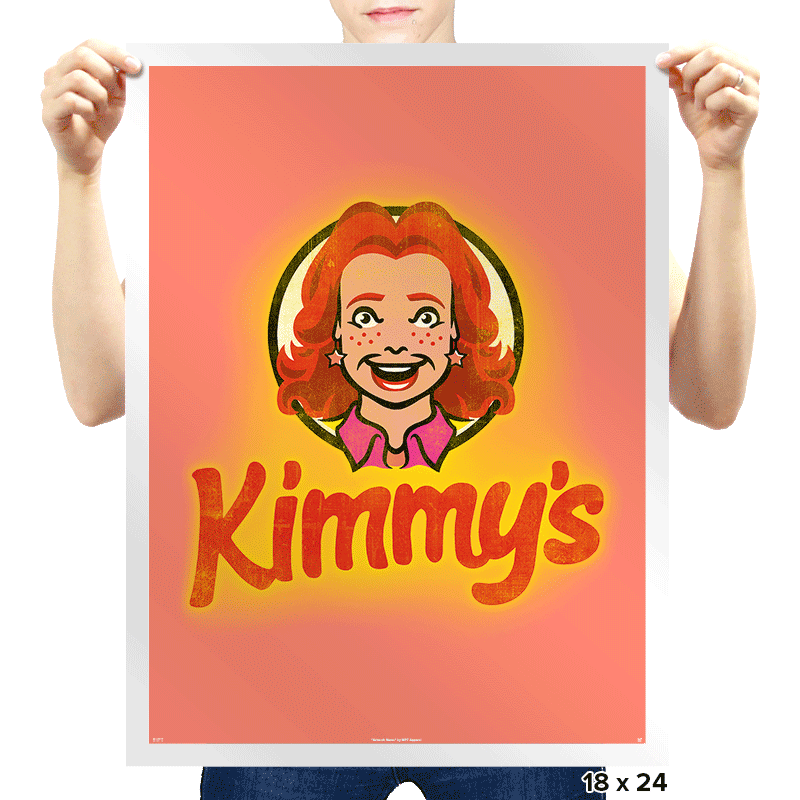 Kimmy's - Prints - Posters - RIPT Apparel