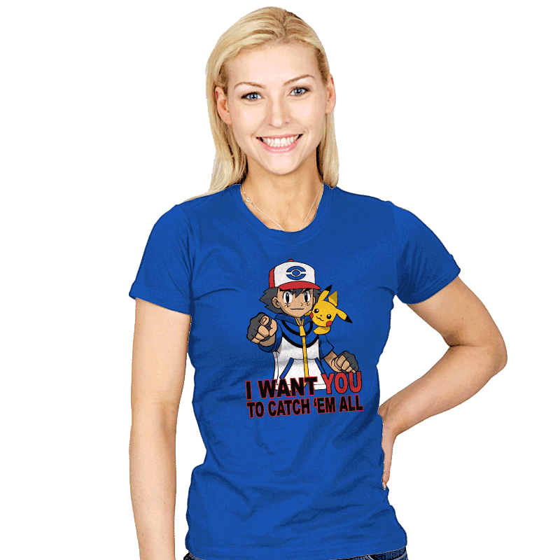Ash Wants You - Womens - T-Shirts - RIPT Apparel