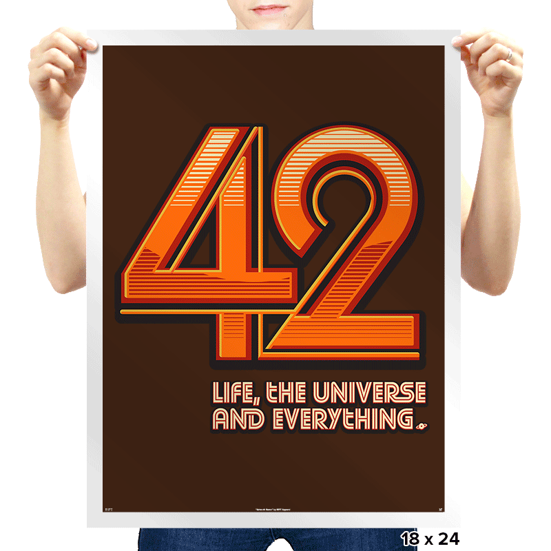 42 - Prints - Posters - RIPT Apparel