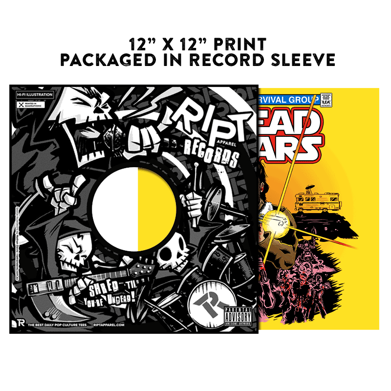 Dead Wars - Album Cover Prints - Posters - RIPT Apparel