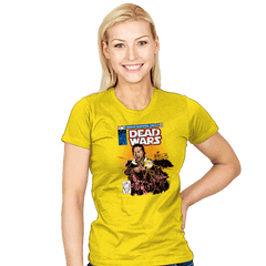 Dead Wars - Womens - T-Shirts - RIPT Apparel