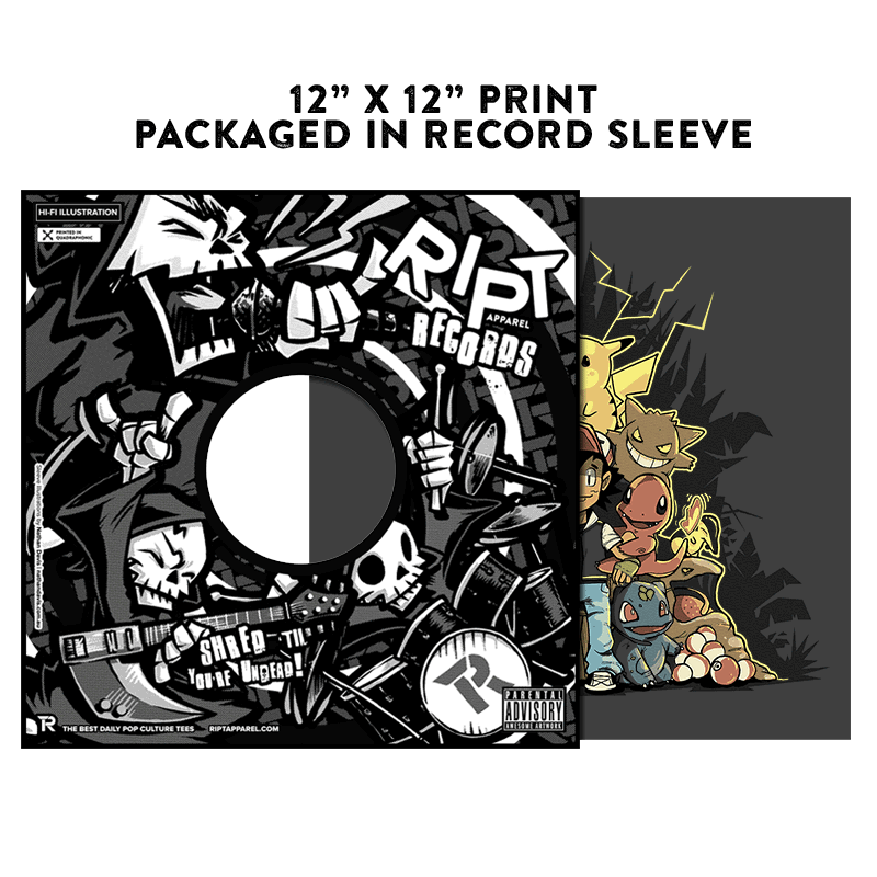 Pokethrone - Album Cover Prints - Posters - RIPT Apparel