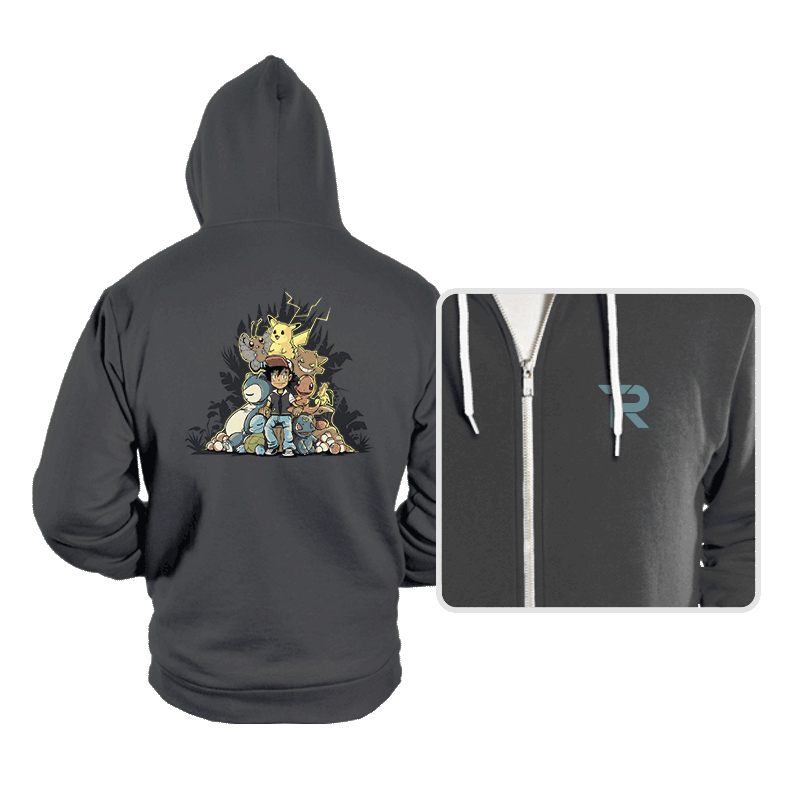 Pokethrone - Hoodies - Hoodies - RIPT Apparel
