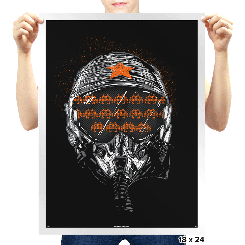 Space Wars - Prints - Posters - RIPT Apparel