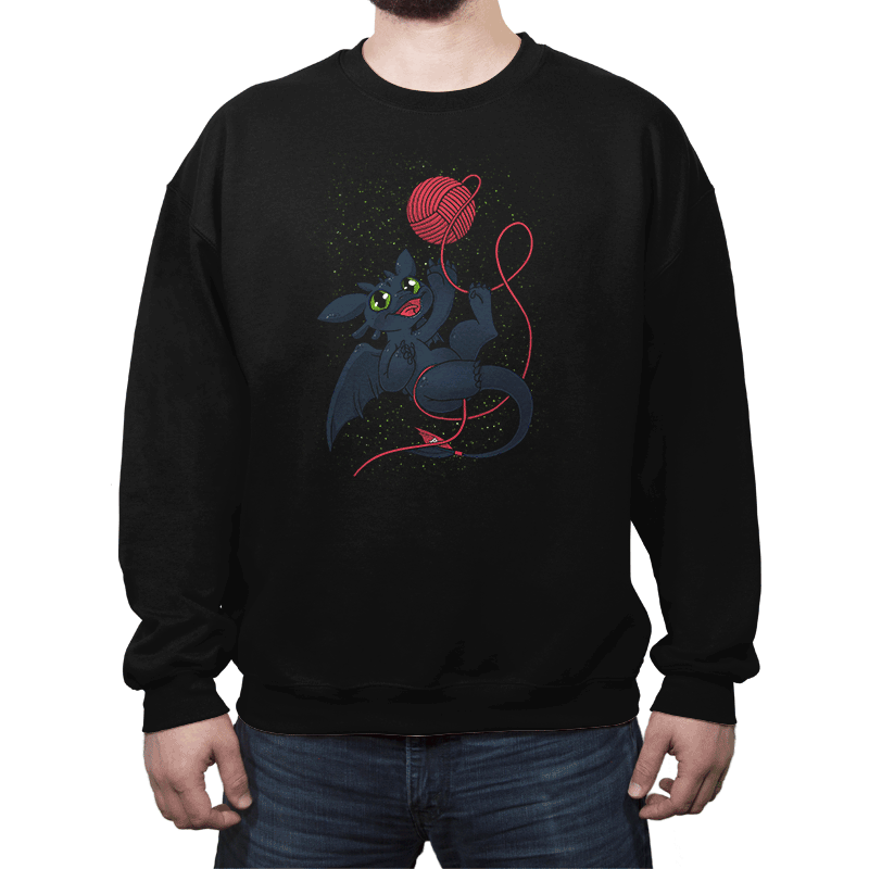 Dragons Just Wanna Have Fun - Crew Neck - Crew Neck - RIPT Apparel